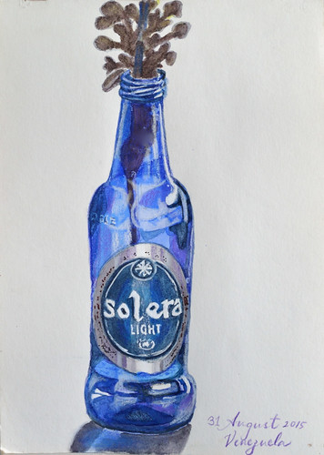 blue beer bottle | by Smallest Forest