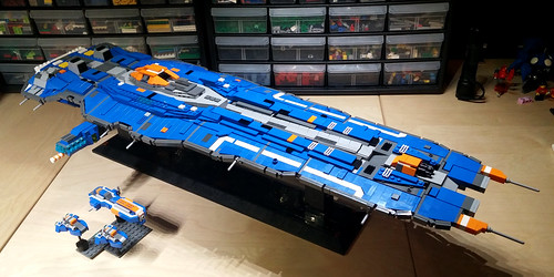 Hiigaran Battlecruiser WIP 10