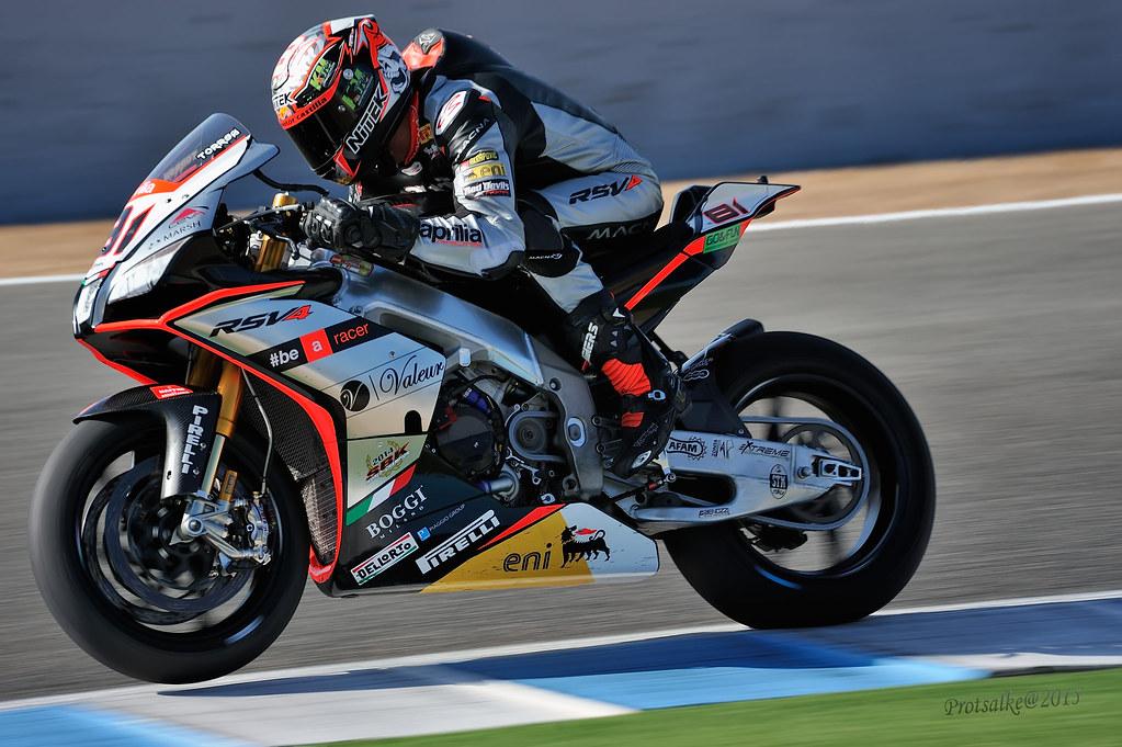 J. TORRES - Superbikes Race (Jerez 2015)