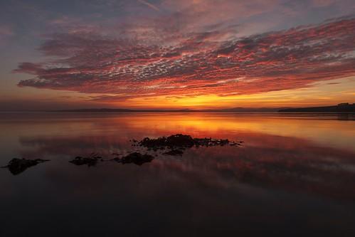 ireland sunset inch donegal inishowen inchisland sunsetdonegal sunsetloughswilly
