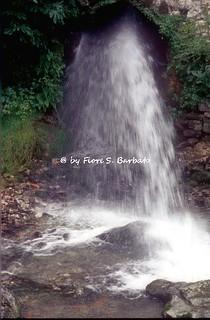 Morigerati (SA), 2001, Il fiume Bussento e le grotte.