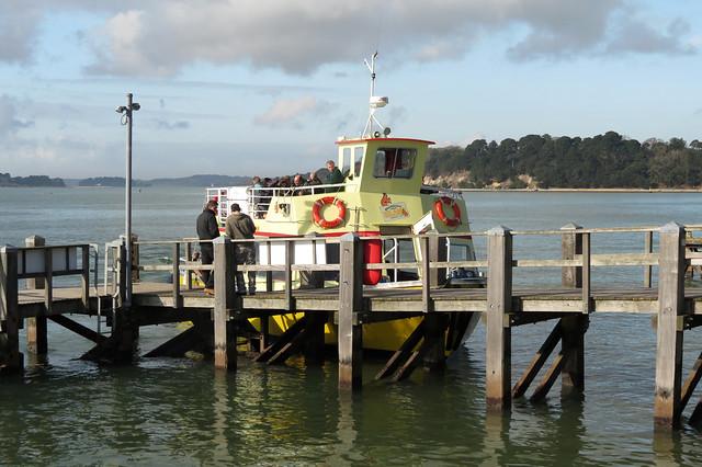 Brownsea Island ferry at Sandbanks