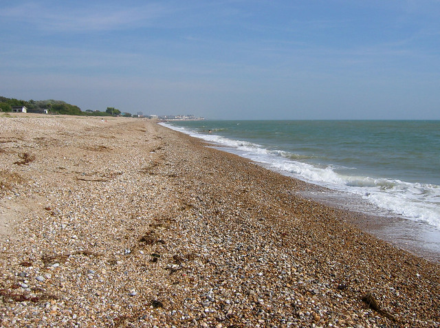 The beach at Aldwick