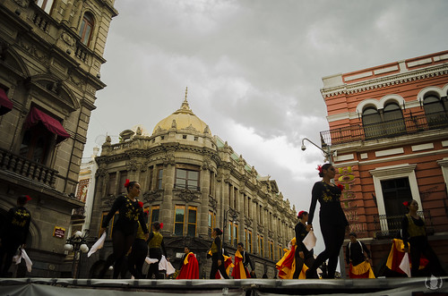 Danza en Puebla