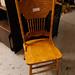 Hardwood chair
