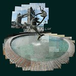 Fountain - Tower Bridge. #towerbridge #fountain #sculpture #statue #dolphin #water #ceriphotomontage #followme #like4like #cerisinfield #instagrames #riverthames #london #londonlandmarks