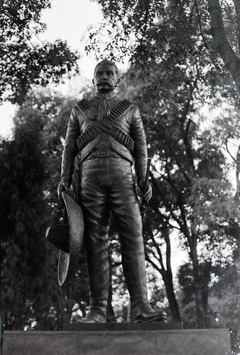 Monumento al revolucionario Emiliano Zapata