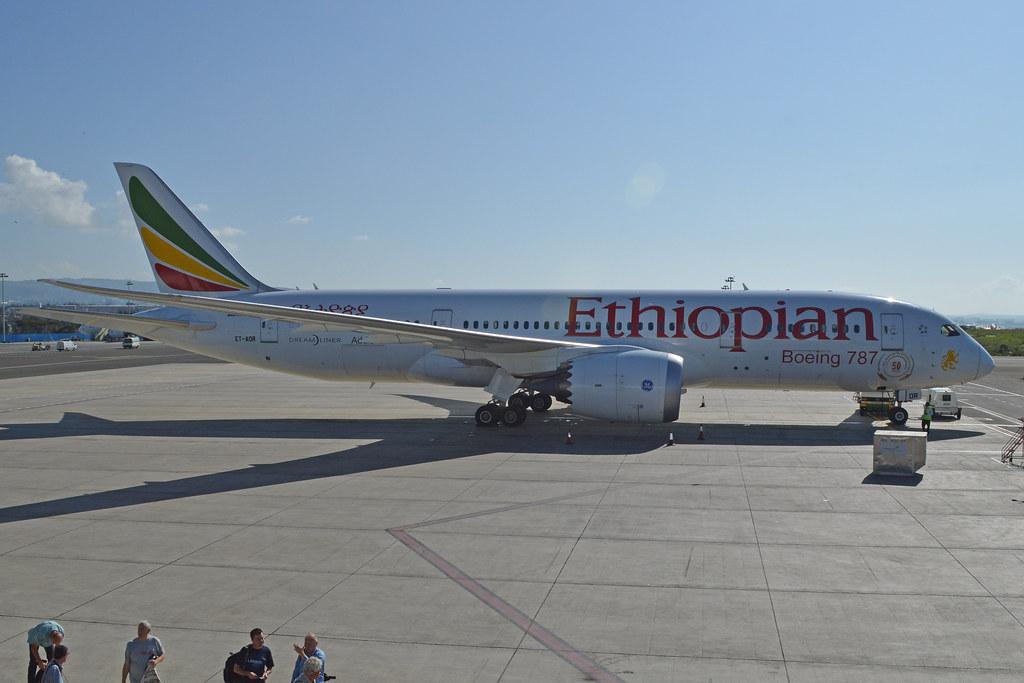 Boeing 787-8 ET-AOR' Ethiopian Airlines | c/n 34746, l/n 71 … | Flickr