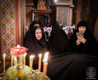 Литургия в Софийском соборе 745