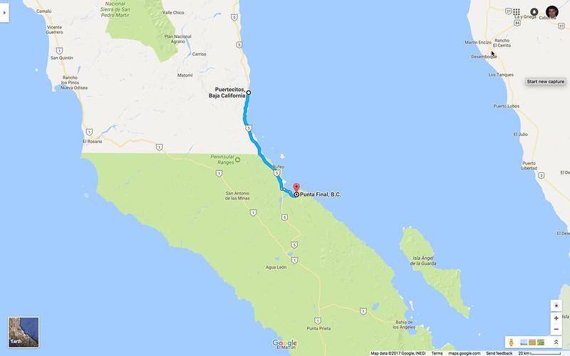 Puertecitos to Gonzaga Bay