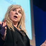 Helen Lederer | Comedian Helen Lederer speaks about her funny debut at the Book Festival © Alan McCredie