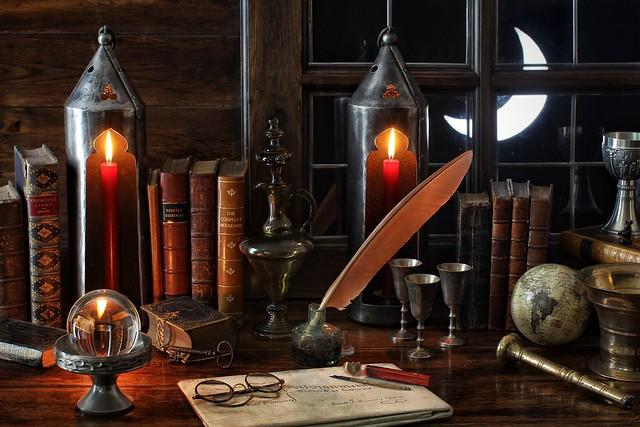 Merlin's Study