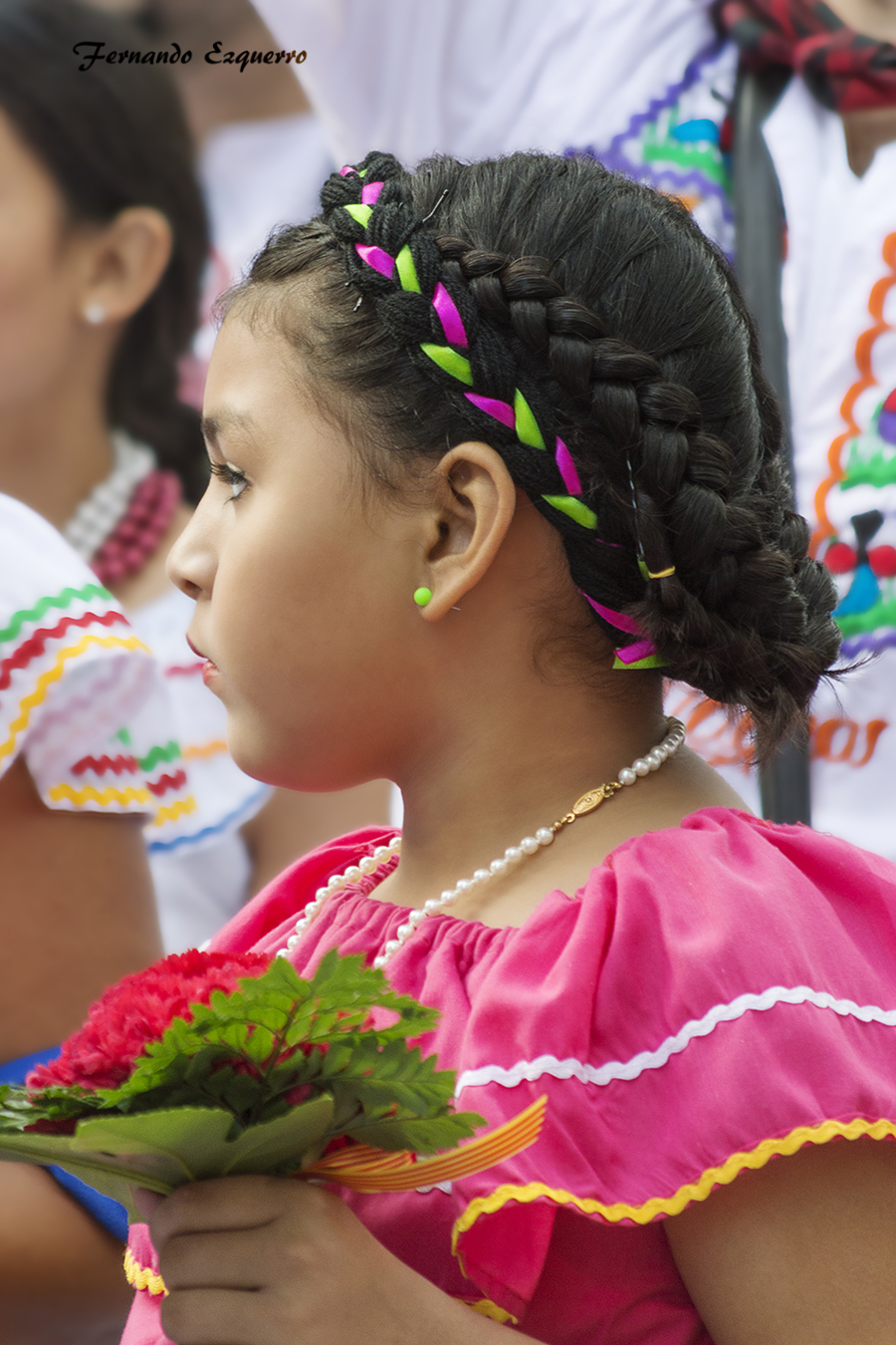 NICARAGUA en la Ofrenda de Flores a la Virgen del Pilar