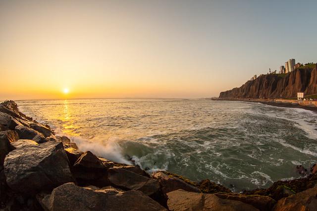 Setting Sun, Miraflores, Lima