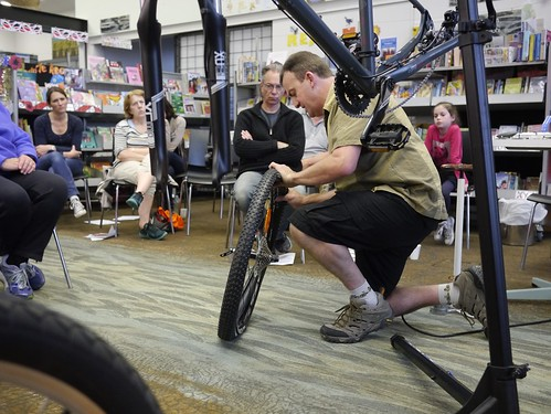 Bike Maintenance evening at Parklands Library