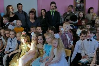 Рождественский концерт в школе 190