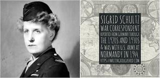 SIGRID SCHULTZ (PSEUDONYM JOHN DICKSON) #100travelHERS | by sandrakaybee