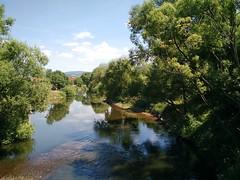 river Werra in Breitungen, June 2015
