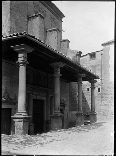 Convento de Santo Domingo el Real en Toledo hacia 1920. Fotografía de Enrique Guinea Maquíbar © Archivo Municipal de Vitoria-Gasteiz