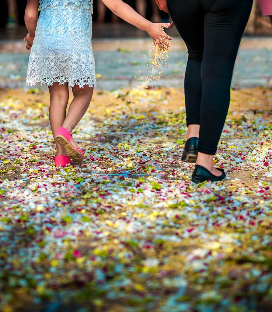 Walking on Flowers