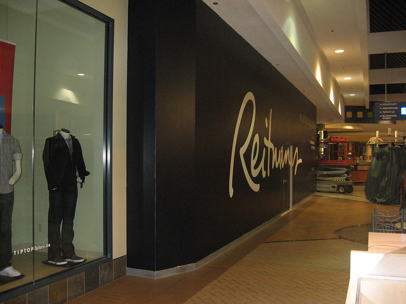 Reitmans hording Retail and PoP