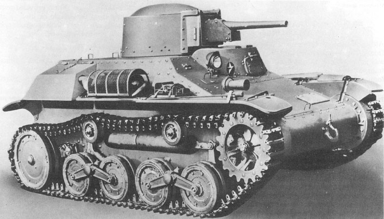 The Japanese Type 97 Te-Ke