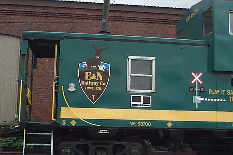 E&N Caboose2 vehicle graphics