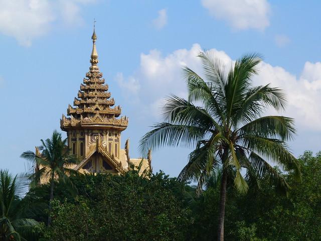 PalacioKanbawzathadi de Bago (Imprescindibles que ver en Myanmar/Birmania)