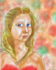 Blonde drawing. #iPad #drawing #AutoDesk sketchbook pro