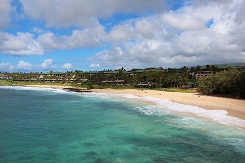shipwrecks beach kauai pacific ocean september 2016 hi hawaii ハワイ 風景