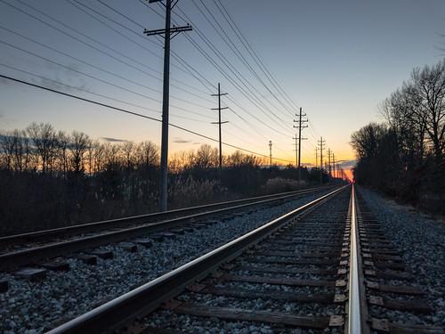 sunset landscaape bayvillage ohio unitedstates us