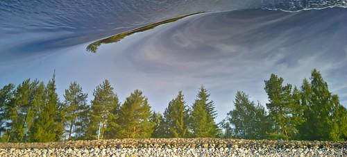 trees reflection nature zeiss suomi finland canal nokia saimaa lumia1020