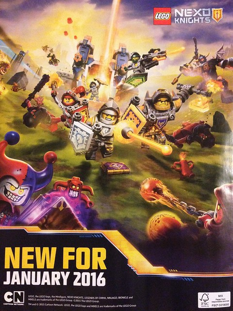 Nexo Knights first official image