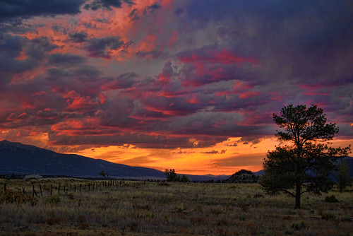 sunset clouds colorado