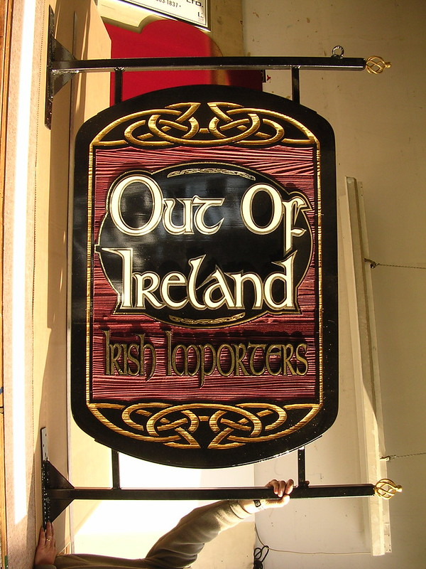 Out of Ireland  panel and projecting