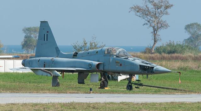 HAF F-5A stored