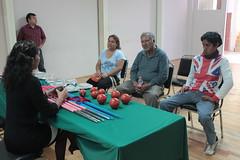 Gobierno de Oaxaca, Entrega CECUDE material a deportistas con parálisis cerebral, Oaxaca