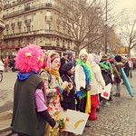 Sat, 12/12/2015 - 12:36pm - More clowning around at Paris climate change March