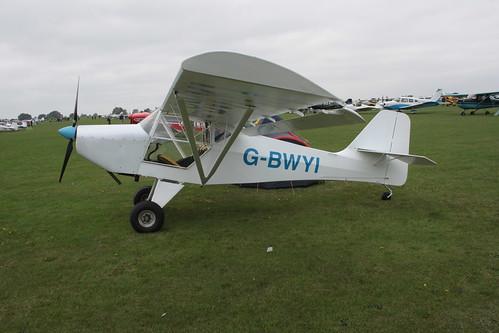 G-BWYI Denny Kitfox 3 [PFA 172-12143] Sywell 030911