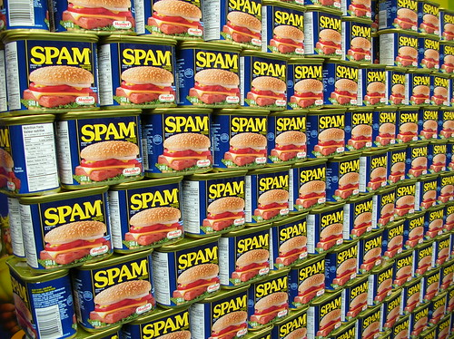 Spam wall | by freezelight