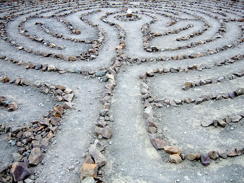 labyrinth at lands end | by jack dorsey