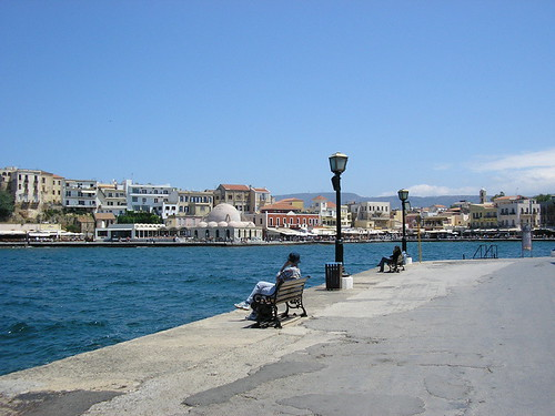 Chania - harbour | by goforchris