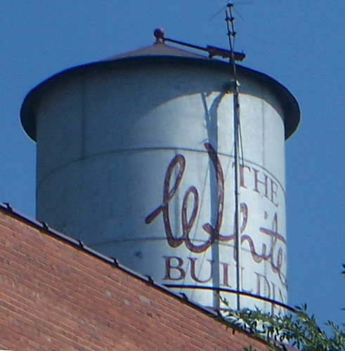 Augusta, GA JB White Department Store rooftop water tank