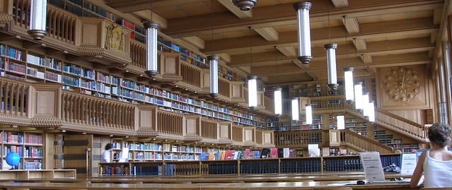 Reading Room, KUL Central Library