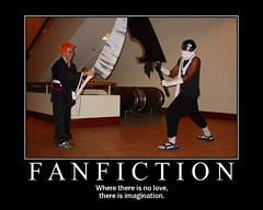 fanfiction Poster   by agius