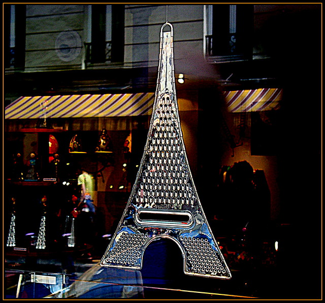 A new vision of the Eiffel Tower