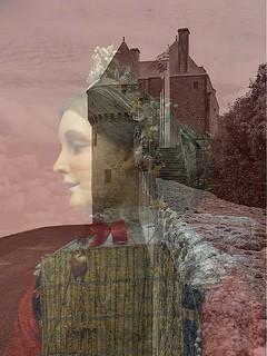 """Châtelaine de Guérande   . . .    . . .  36/52 - thème """" Multi Exposure """"."""