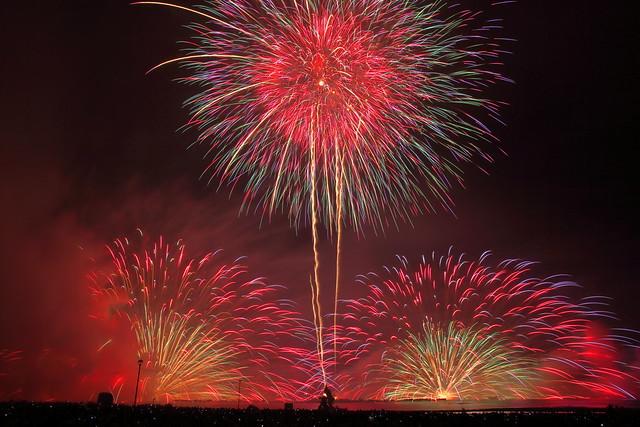 Lake Suwa Fireworks.