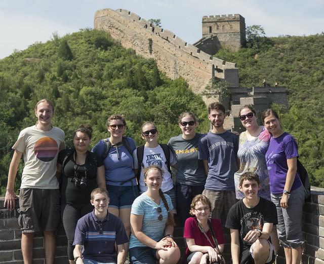 China 2015 Cross-Cultural on the Great Wall at Jinshanling