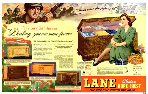 1944  ... fighting for his hope chest!